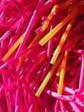 Gekleurde plastic Tunesien Royalty-vrije Stock Foto's