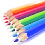 Gekleurde potloden Stock Foto's
