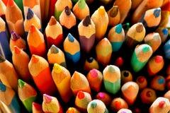 Gekleurde Potloden Stock Afbeelding