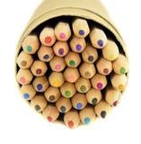 Gekleurde Potloden Royalty-vrije Stock Afbeelding