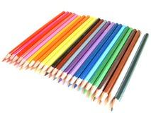 Gekleurde potloden Stock Fotografie