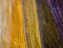 Gekleurde raad Stock Foto's