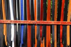 Gekleurde riemen Royalty-vrije Stock Foto's
