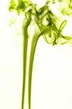 Gekleurde rook Stock Fotografie
