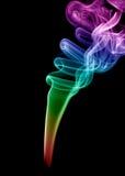 Gekleurde rook Royalty-vrije Stock Afbeeldingen