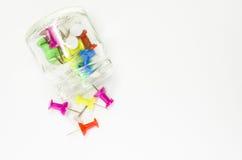 Gekleurde Spelden Royalty-vrije Stock Foto