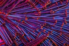 Gekleurde Spijkers 4 Royalty-vrije Stock Foto's