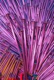 Gekleurde Spijkers 80 Royalty-vrije Stock Foto