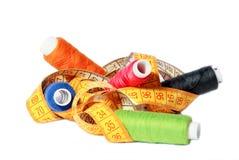 Gekleurde spoelen royalty-vrije stock afbeelding
