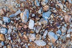 Gekleurde stenen Stock Afbeelding