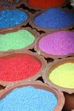 Gekleurde stenen voor verkoop, Thailand. Stock Afbeelding