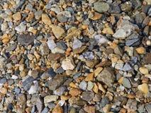 Gekleurde stenenachtergrond Royalty-vrije Stock Foto