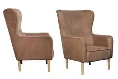 Gekleurde stoelen op een witte achtergrond Royalty-vrije Stock Fotografie
