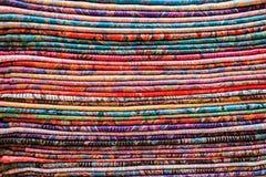Gekleurde stof Royalty-vrije Stock Afbeelding