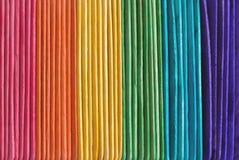 Gekleurde stokken Royalty-vrije Stock Fotografie