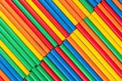 Gekleurde stokkentextuur als achtergrond stock afbeelding