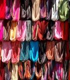 Gekleurde Stoles Stock Afbeelding