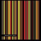 Gekleurde streepachtergrond. Vector. Stock Fotografie