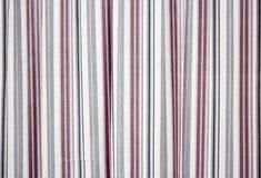Gekleurde strepen op een witte stof Royalty-vrije Stock Foto