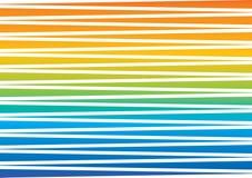 Gekleurde strepenregenboog Royalty-vrije Stock Afbeelding