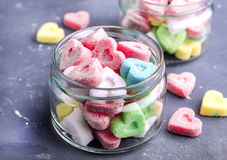 Gekleurde suiker Stock Foto