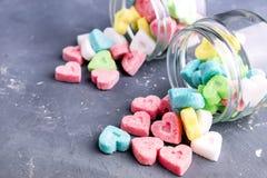 Gekleurde suiker Royalty-vrije Stock Afbeeldingen