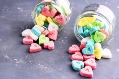 Gekleurde suiker Stock Afbeelding