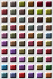 Gekleurde tegels Royalty-vrije Stock Foto