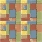 Gekleurde Tegels Stock Afbeelding