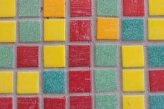 Gekleurde tegels Stock Afbeeldingen