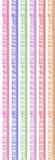 Gekleurde textiel Royalty-vrije Stock Afbeelding