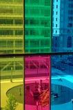 Gekleurde vensters Stock Afbeeldingen