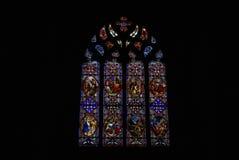 Gekleurde vensters Royalty-vrije Stock Foto