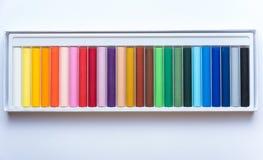 Gekleurde verven royalty-vrije stock foto