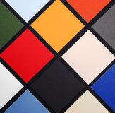 Gekleurde Vierkante Patroon/Tegels - Achtergrondtextuur - Samenvatting stock afbeelding