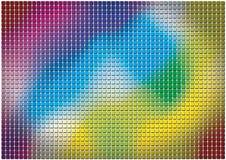 Gekleurde vierkanten Royalty-vrije Stock Afbeelding