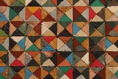 Gekleurde vierkanten royalty-vrije stock afbeeldingen