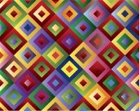 Gekleurde vierkanten vector illustratie