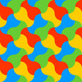 Gekleurde waterkruik Royalty-vrije Stock Afbeelding