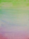 Gekleurde waterverf met de hand gemaakte achtergrond Royalty-vrije Stock Afbeelding
