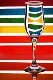 Gekleurde zebra Royalty-vrije Stock Fotografie