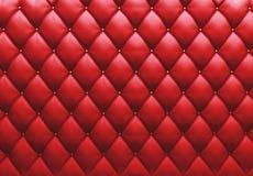 Geknöpft auf der roten Beschaffenheit. Wiederholen Sie Muster Stockbilder