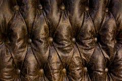 Geknöpftes leater Muster Lizenzfreie Stockbilder