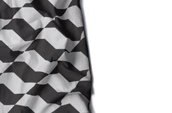 Geknitterte Flagge Sao Paulo-Bürgersteigs Ikone Stockfotografie