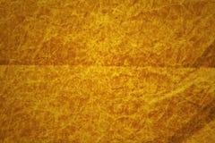 Geknitterte orange Pappe Stockfoto