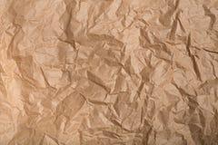 Geknitterte Papierbeschaffenheit lizenzfreies stockfoto