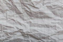 Geknittertes Papier Stockbild