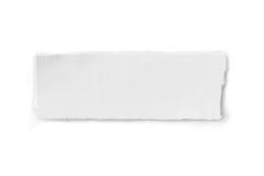 Geknittertes Papier - Beschneidungspfad eingeschlossen stockfotografie