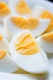 Gekochte Eier Lizenzfreies Stockfoto