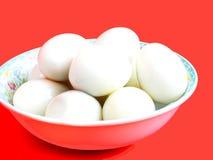 Gekochte Eier. Lizenzfreies Stockbild